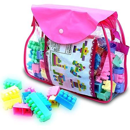 Zomaark® Educational Toys Bricks Toys Sets Building Blocks Game Puzzles Block Set for Kids and Children (111 Pieces Blocks Bricks)