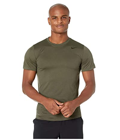 Nike Legend 2.0 Short Sleeve Tee (Cargo Khaki/Matte Silver) Men