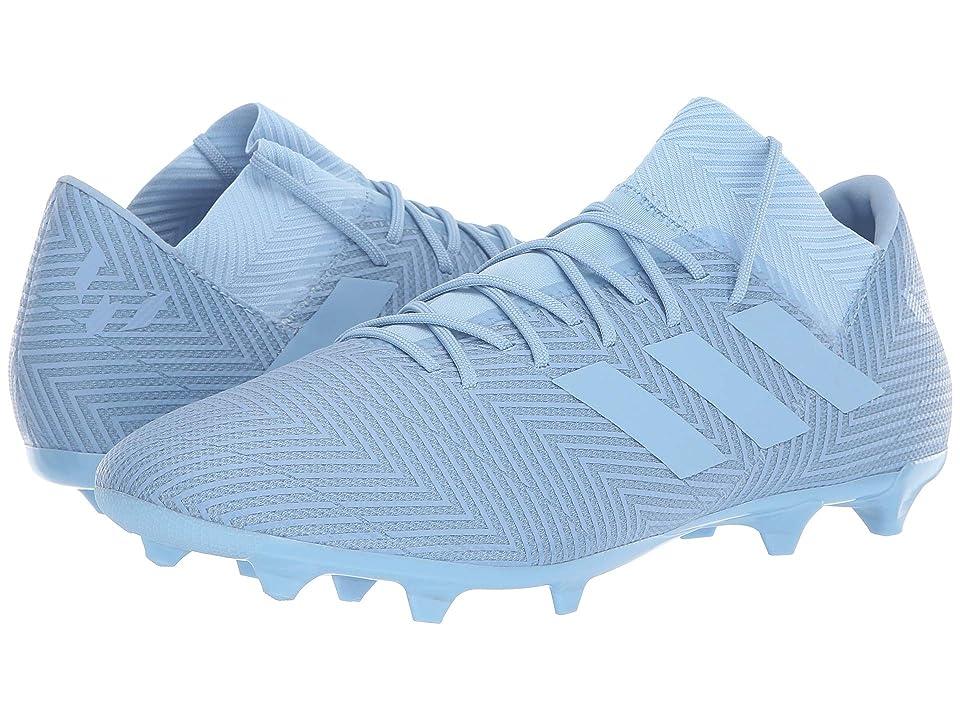 adidas Nemeziz Messi 18.3 FG (Ash Blue/Ash Blue/Raw Grey) Men's Soccer Shoes