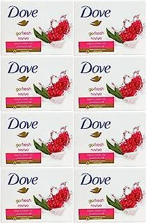 Dove Go Fresh Revive Beauty Cream Bar Soap, 100 Gram / 3.5 Ounce Bars (Pack of 8)