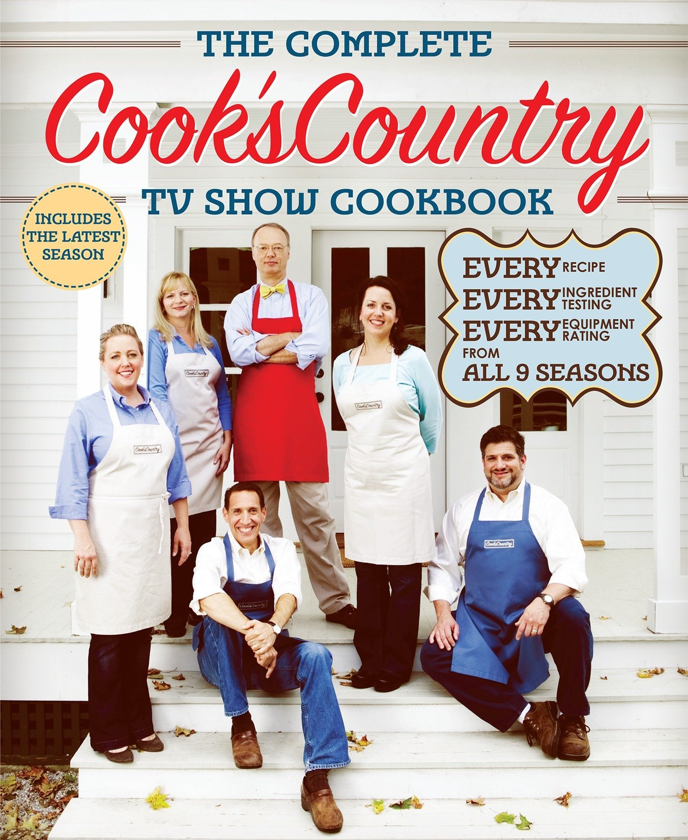 Image OfThe Complete Cook's Country TV Show Cookbook Season 9