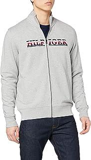 Tommy Hilfiger Men's Hilfiger Logo Zip Through Sweatshirt