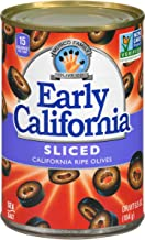 Early California 6.5 oz. Sliced Ripe Black Olives, 12-Cans