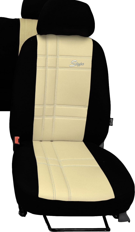 Pokter Alc T5 6 Sitzer Maßgefertigte Sitzbezüge S Type Schwarz Auto