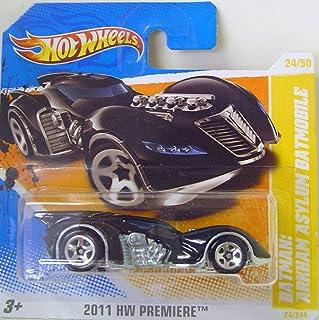 Hot Wheels Batman Arkham Asylum Batmobile by Hot Wheels