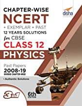 Chapter-wise NCERT + Exemplar + Past 12 Years Solutions for CBSE Class 12 Physics 6th Edition