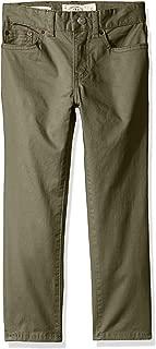 Lucky Brand Boys' 5 Pocket Stretch Twill Pant