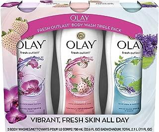 Olay Fresh Outlast Body Wash (23.6 fl. oz., 3 pk.) (pack of 2)