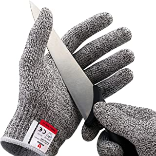 NoCry Cut Resistant Gloves – Ambidextrous, Food Grade, High Performance Level 5 Protection