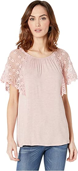 Marina Lace Sleeve Top