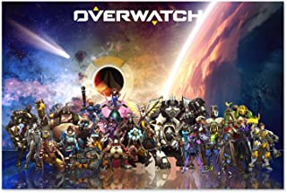Printing Pira Overwatch Poster - All Characters (24x36)