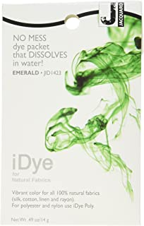 Jacquard Products iDye Fabric Dye: Emerald