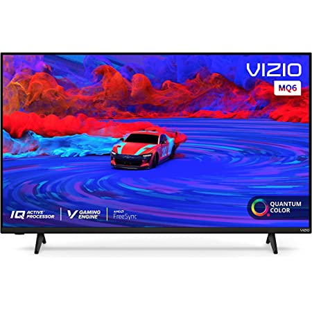 VIZIO 50-Inch M-Series Quantum 4K UHD LED HDR Smart TV with Apple AirPlay and Chromecast Built-in, Dolby Vision, HDR10+, HDMI 2.1, Variable Refresh Rate, M50Q6-J01, 2021 Model