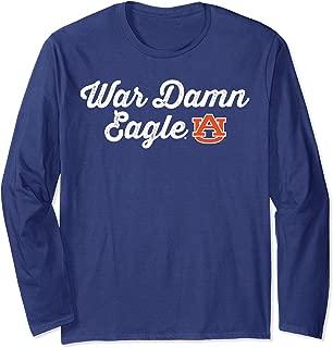 Auburn Tigers War Damn Eagle Long Sleeve T-Shirt - Apparel