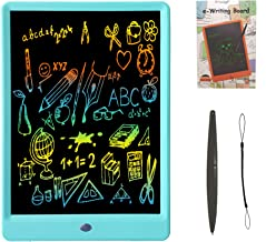 Drawing Tablet 10 Inches LCD Writing Tablet Colorful Screen, Doodle Board Electronic Doodle Pads Writing Board for Kids and Adults (Blue)