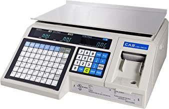 CAS LP1000N Label Printing Scale, 30lbs Capacity, 0.01lbs Readability