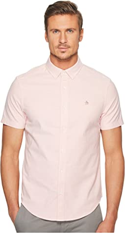 Original Penguin - Short Sleeve Stretch Oxford Shirt