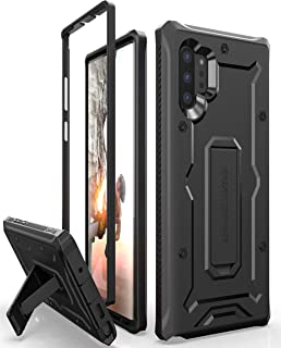 ArmadilloTek Vanguard Designed for Samsung Galaxy Note 10+Plus Case (2019 Release) Military Grade Full-Body Rugged with Kickstand Without Built-in Screen Protector - Black