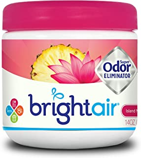 Bright Air 900114Bright Air Solid Air Freshener and Odor Eliminator, Island Nectar and Pineapple, 14 Ounces