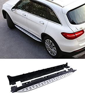 Mophorn Side Step Bars Aluminum Running Board OE Style Nerf Bars for 2016-2017 Mercedes Benz X253 GLC300