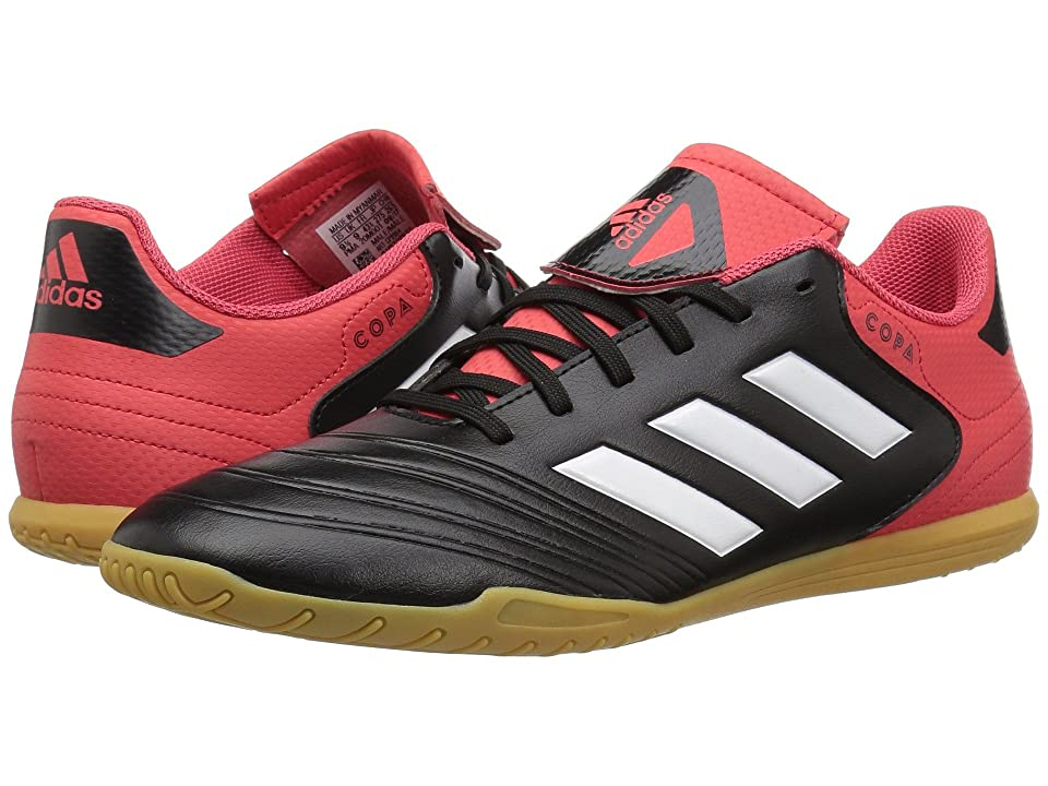 adidas Copa Tango 18.4 Indoor (Black/White/Real Coral) Men