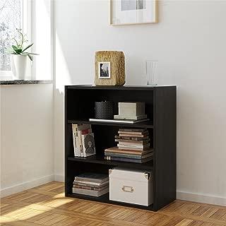 RealRooms Espresso Tally 3 Shelf Bookcase
