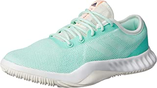 adidas, Crazytrain LT Sneakers, Women's Shoes, Clear Mint/CloudWhite/Clear Orange