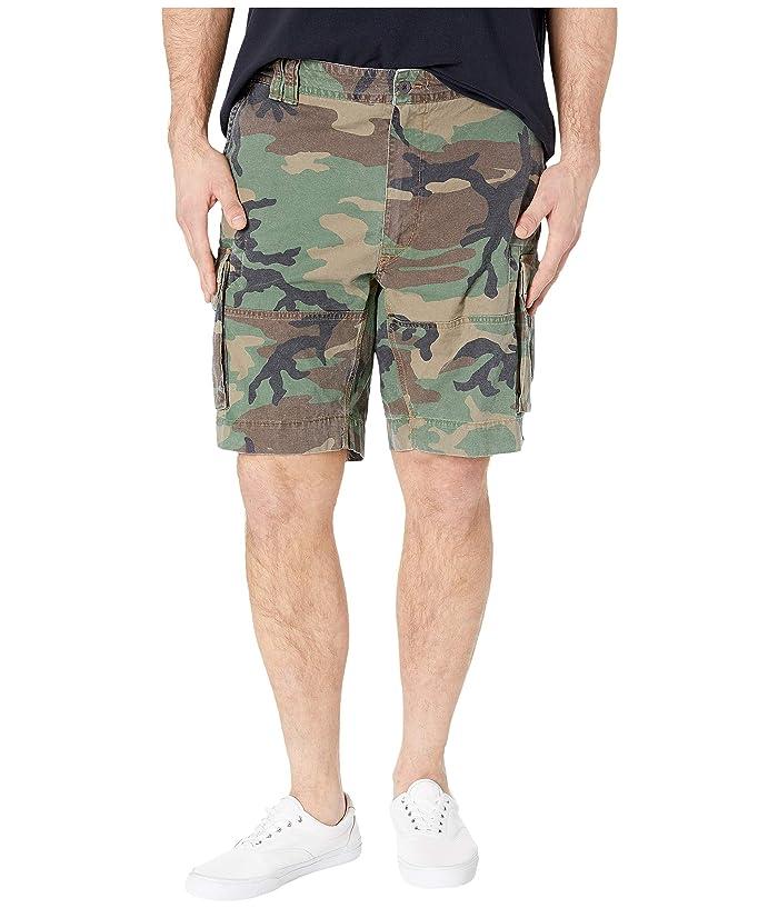 Polo Ralph Lauren Big & Tall Big Tall Gellar Cargo Shorts (Surplus Camo) Men