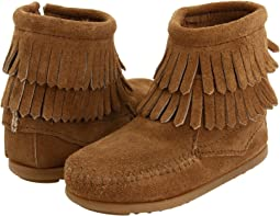 Side Zip Double Fringe (Toddler/Little Kid/Big Kid)