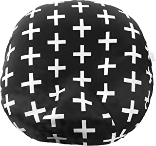 Water Resistant Removable Cover for Newborn Lounger | Unisex Swiss Cross Design | Premium Quality Soft Wipeable Fabric | Great Baby Shower Gift | Mila Millie (Swiss Cross)