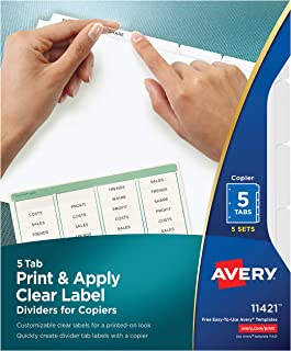 Best avery file dividers Reviews