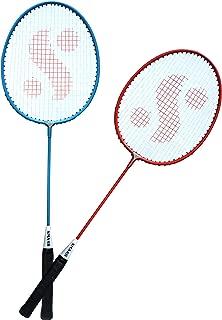 Silver's Kids SIL-SM-JR-Combo-4 Aluminum Badminton Racquet, Pack of 2