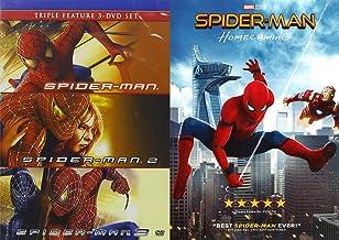 The Outstanding Cinema Spider-Man Collection : Spider-Man/ Spider-Man 2/ Spider-Man 3 + Spider-man Homecoming DVD Bundle Movie Bundle