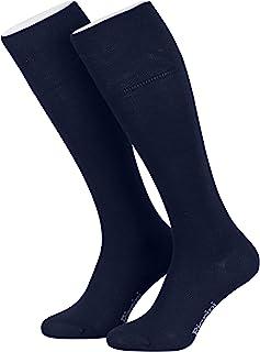 Piarini, 4 pares de calcetines largos para mujer - Caña cómoda sin elástico
