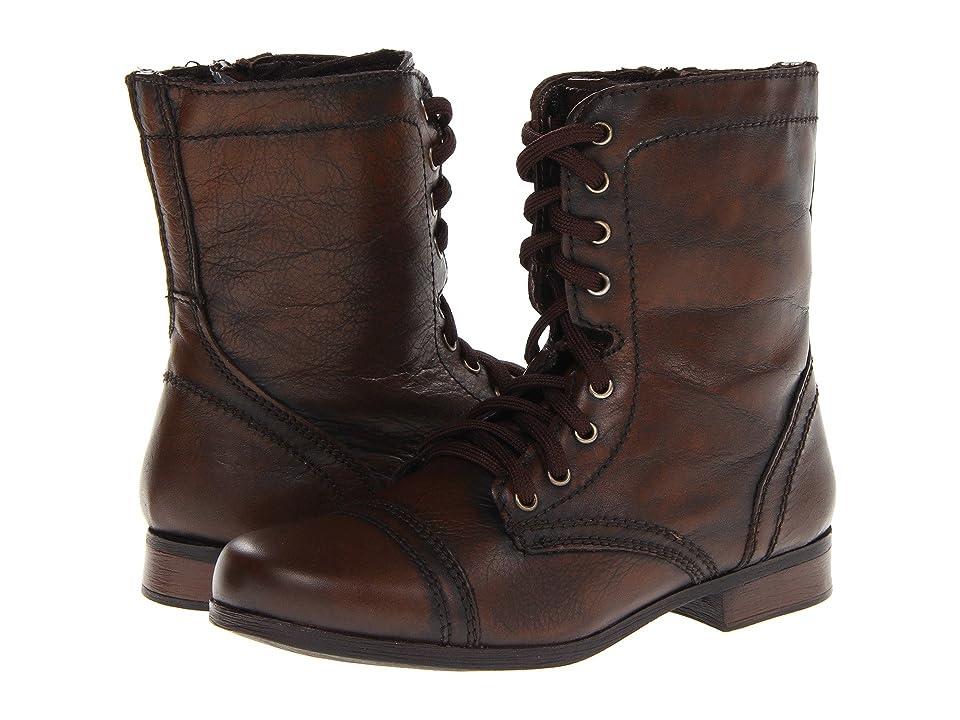 Steve Madden Kids Troopa (Toddler/Little Kid/Big Kid) (Brown) Girls Shoes