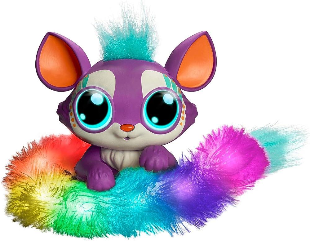 Mattel , lil`gleemerz loomur - giocattolo interattivo reagisce al tocco e al suono GHP18