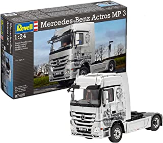 Revell-7425 Mercedes-Benz Actros Mp3, Color Plateado (07425)