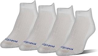 MediPEDS Women's Coolmax Low-Cut Socks, 4-Pack