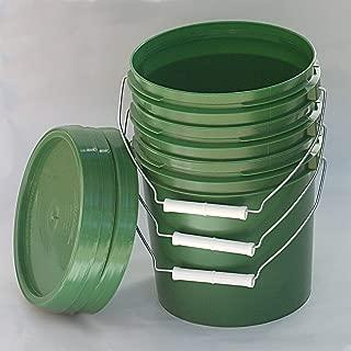 Best gallon bucket sizes Reviews