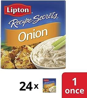 Lipton Recipe Secrets Soup and Dip Mix Single Serve Onion 1 oz, 24 count