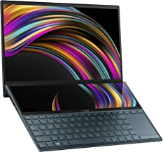 "ASUS ZenBook Duo UX481 14"" FHD NanoEdge Bezel Touch Display, Intel Core i7-10510U CPU, 8GB RAM, 512GB PCIe SSD, Innovative..."