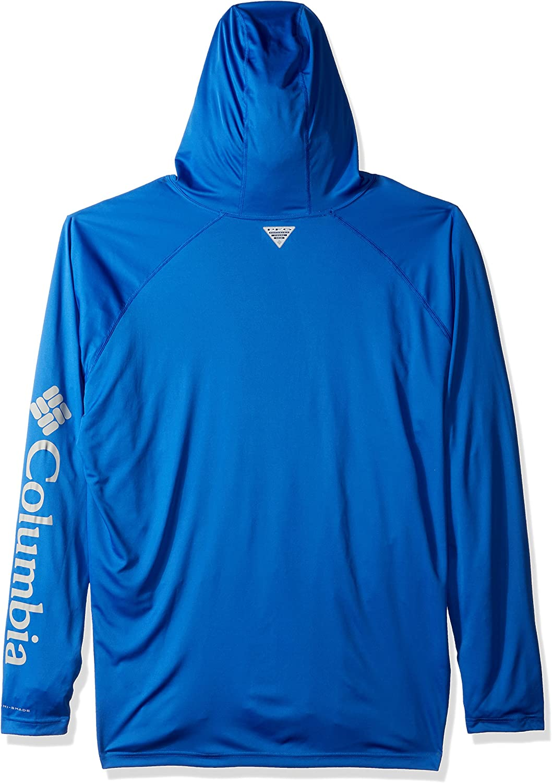 Columbia Terminal Tackle™ Sweat à Capuche Logo Bleu Vif, Gris Froid.