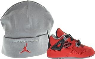 09ed65503ecbb8 Jordan 4 Retro (GP) Infants Shoes Gift Pack Fire Red White-Black