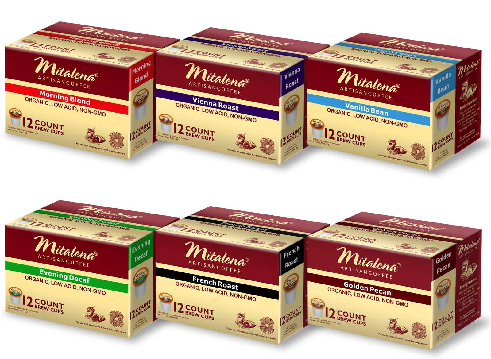 Mitalena Low Acid K-cups