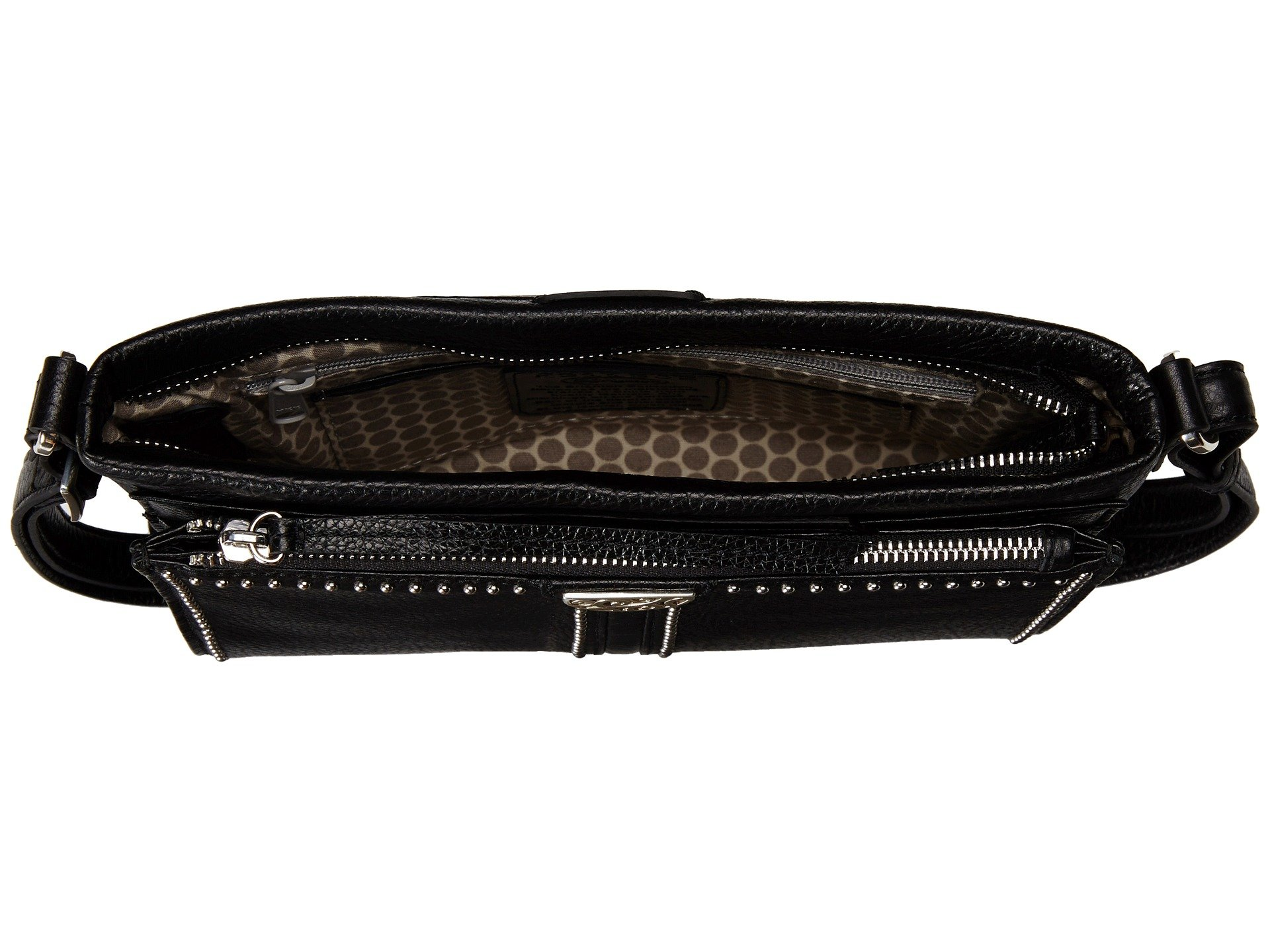 Brighton Cross Jagger Black Organizer Bag CApZqw