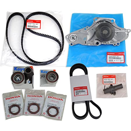Evergreen TBK329MHWPA Fits 03-08 3.5L Honda Odyssey Pilot Acura MDX RL TL J35A Timing Belt Kit AISIN Water Pump