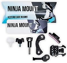 NINJA MOUNT - BIG PACK - actie camera houder fullface helm   compatibel met GoPro, Garmin & Rollei   speciale montage voor...