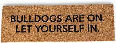47th & Main Coir Door Mat, 34 x 10-inches, Bulldogs