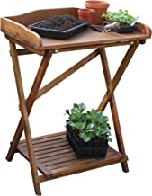 Tierra Garden 50-5500 Haxnicks Hardwood Potting Bench