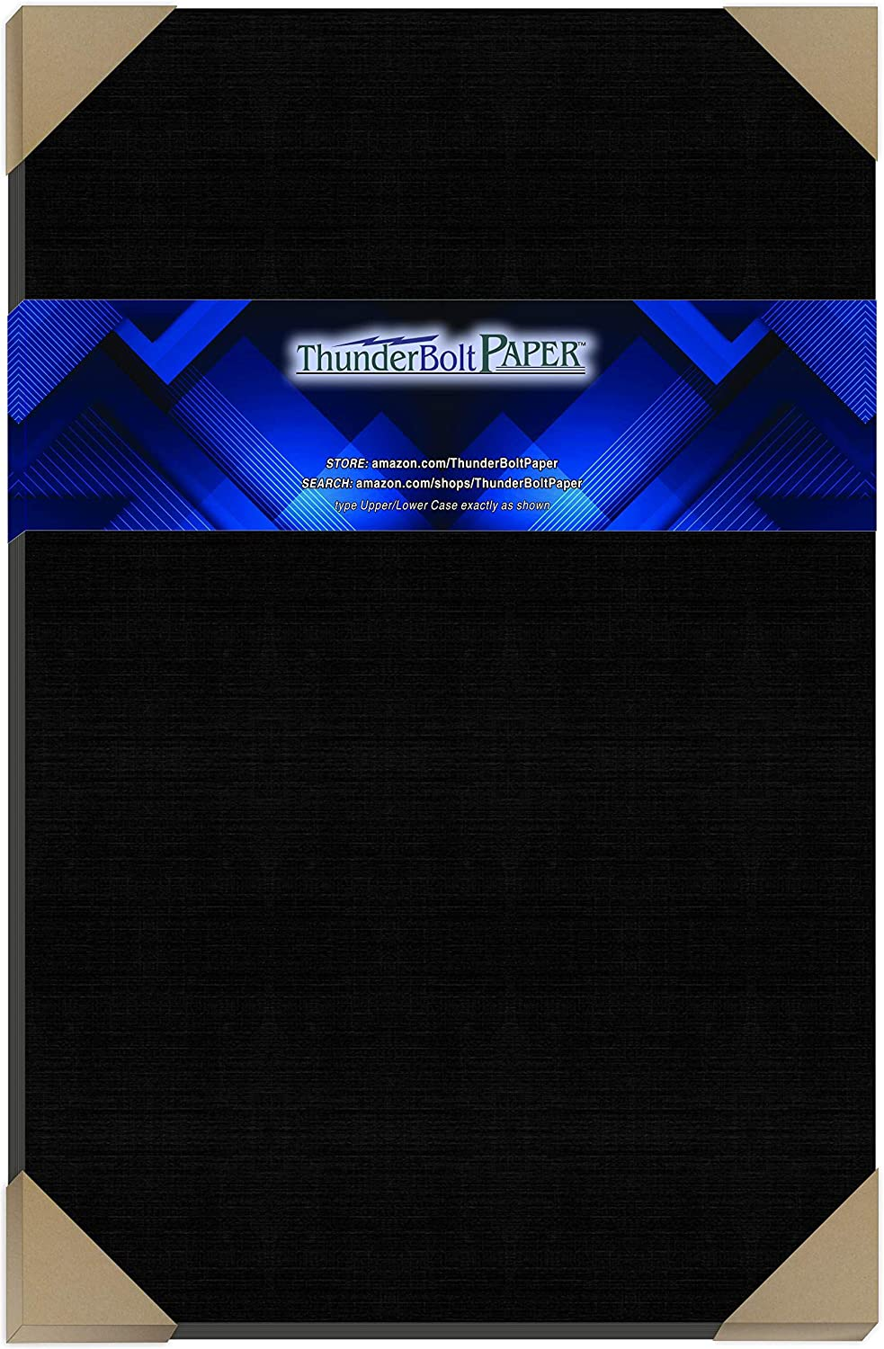 25 Black Linen 80# Cover Paper Sheets Inches Beauty products - 35% OFF 18